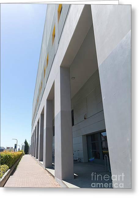 Recreational Sports Facility At University Of California Berkeley Dsc6311 Greeting Card
