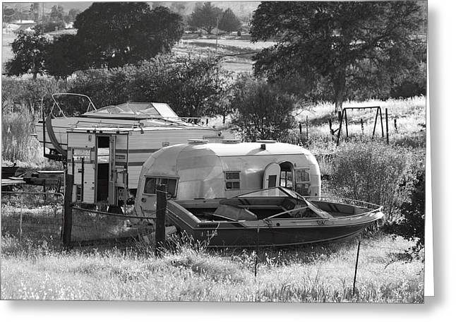 Recreational Vehicles Chinese Camp Greeting Card