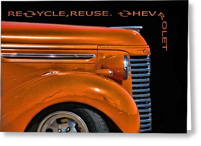 Recycle Greeting Card by Kevin  Sherf