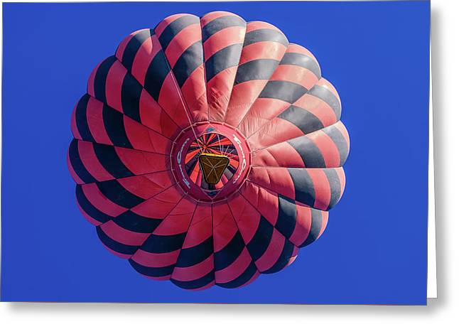 Red Balloon Greeting Card by Joseph Smith