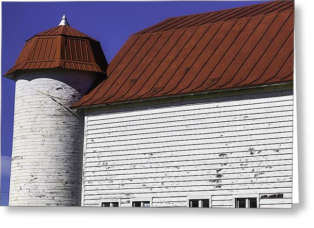 Red Barn Close Up Greeting Card by Garry Gay