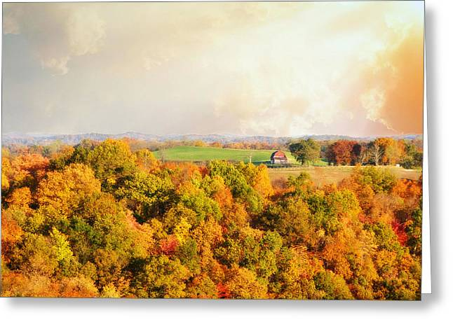 West Virginia Autumn Greeting Card