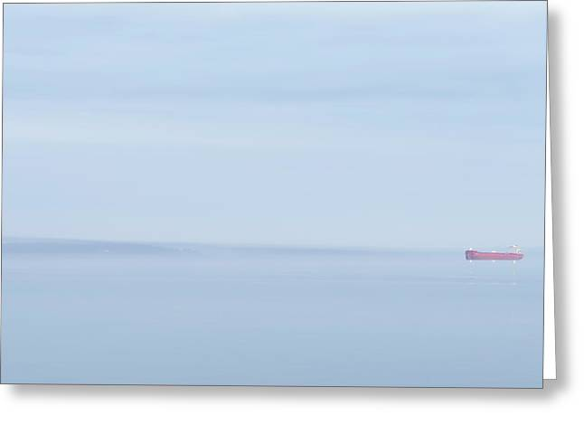Red Boat 2 Greeting Card