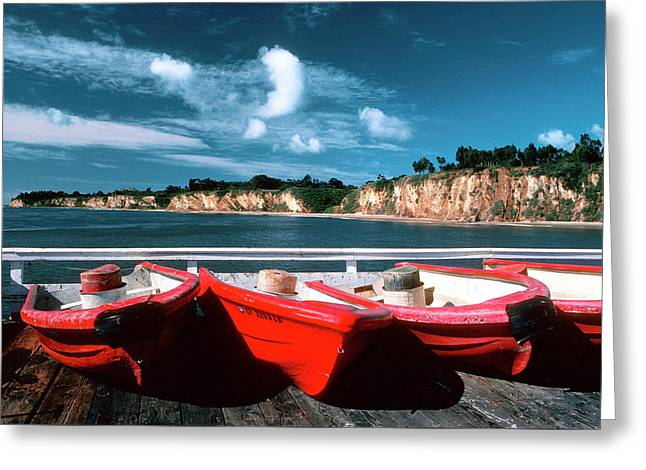 Red Boat Diaries Greeting Card