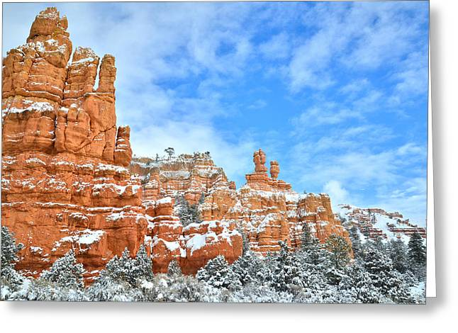 Red Canyon Scenic Byway 12 Greeting Card
