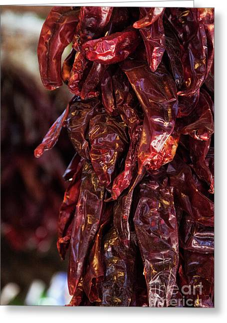 Red Chili Stew Greeting Card
