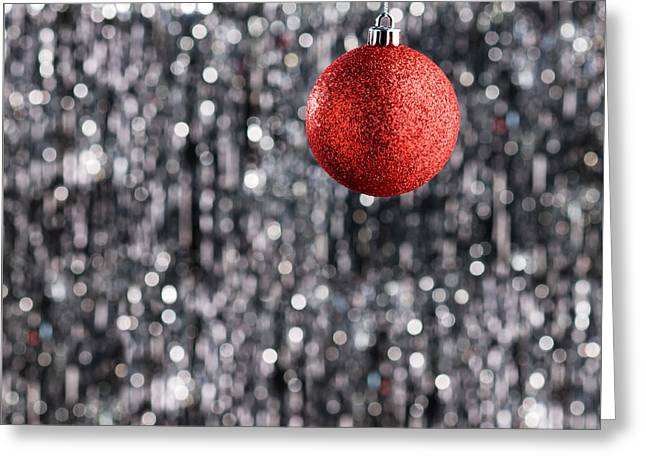 Greeting Card featuring the photograph Red Christmas  by Ulrich Schade