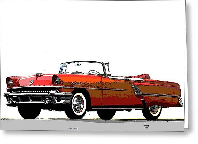 Red Convertable Greeting Card