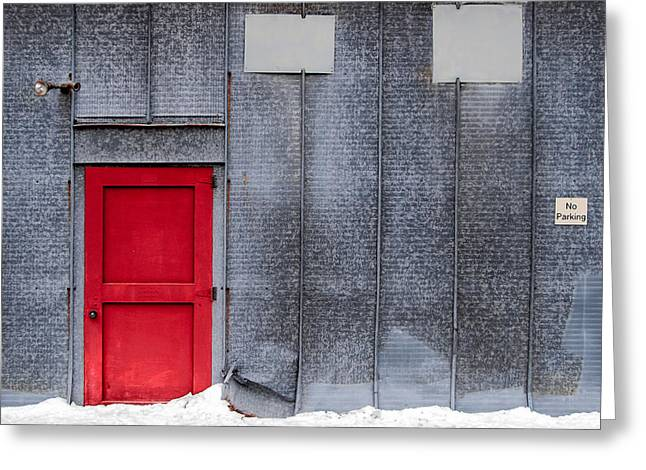 Red Door To Summer Greeting Card by Todd Klassy