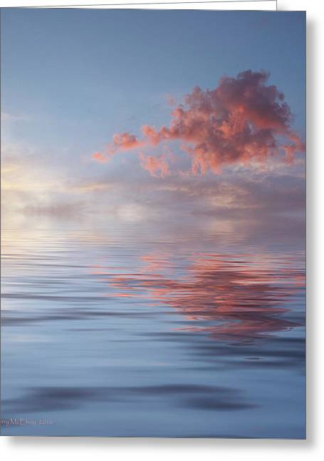 Red Emotion Greeting Card by Jerry McElroy