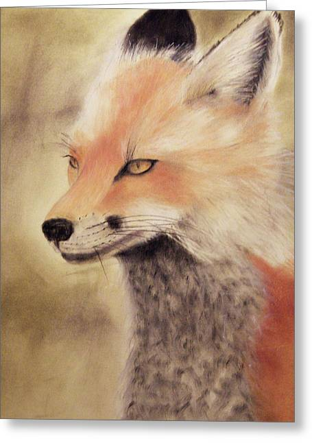 Red Fox Greeting Card by Joanne Giesbrecht