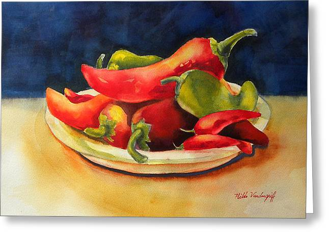 Red Hot Chile Peppers Greeting Card