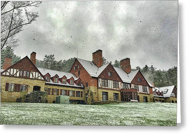 Red House Administration Building Greeting Card