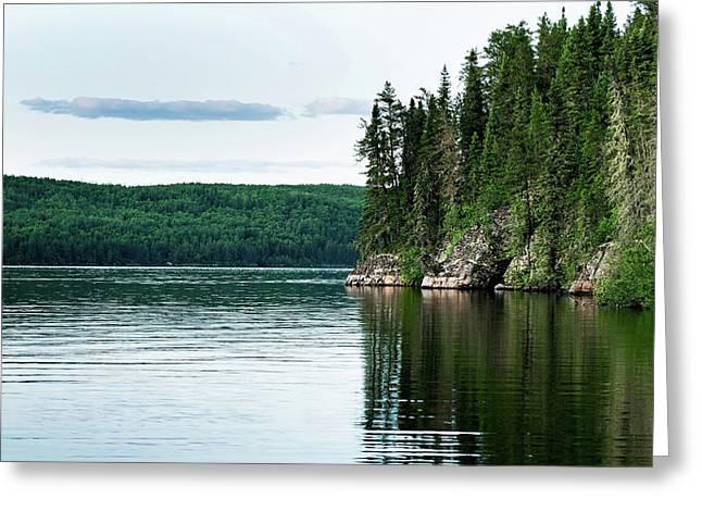 Red Lake Ontario Greeting Card