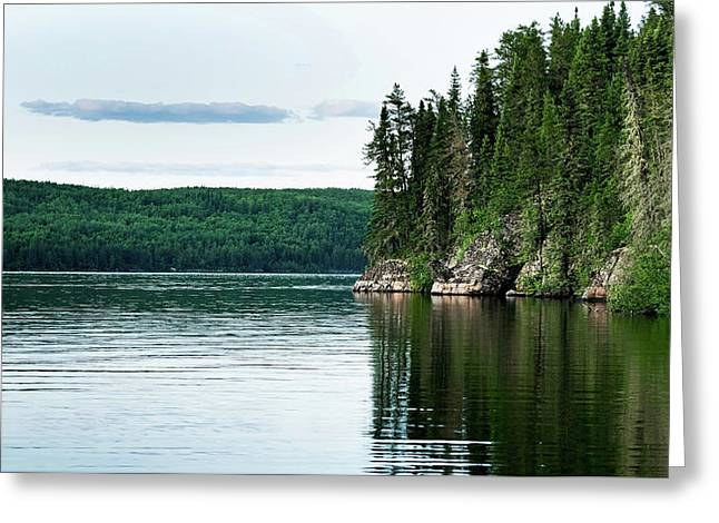 Red Lake Ontario Greeting Card
