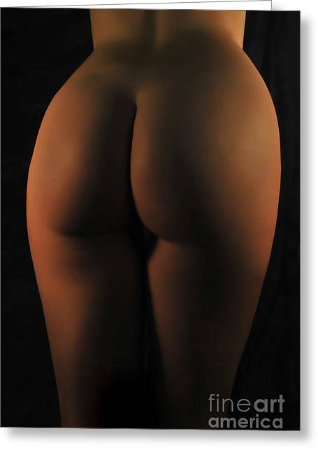 Red Light Bum Greeting Card