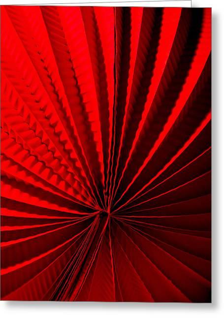 Red Greeting Card by Maggie Terlecki