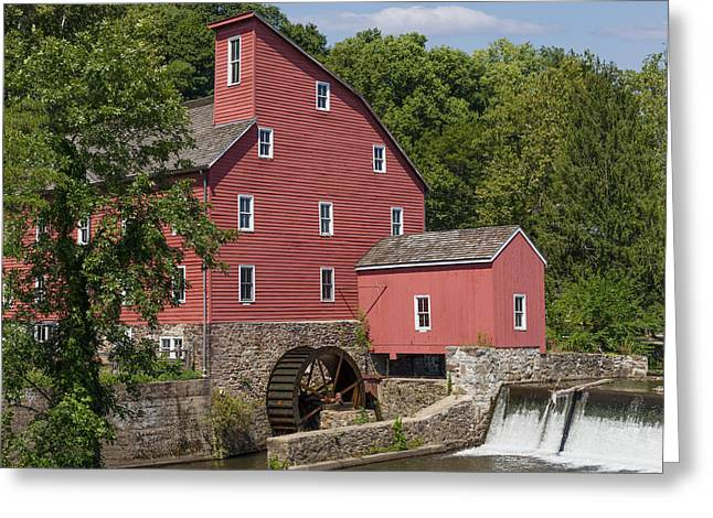 Red Mill At Clinton Greeting Card