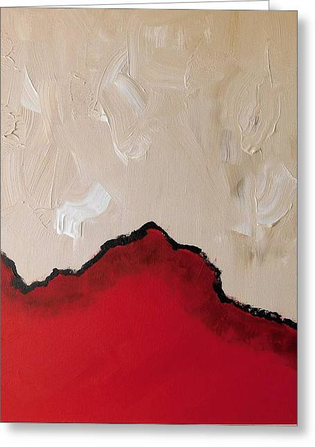 Red Planet Greeting Card by Susan Wooler