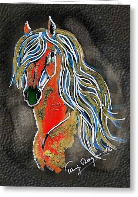 Red Pony  Greeting Card