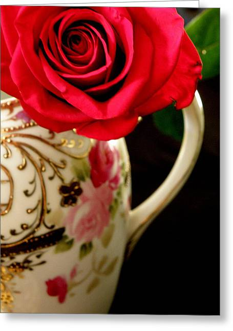 Red Red Rose Greeting Card
