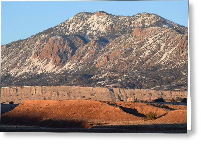 Red Rock Along 550 Greeting Card by Curtis Willis