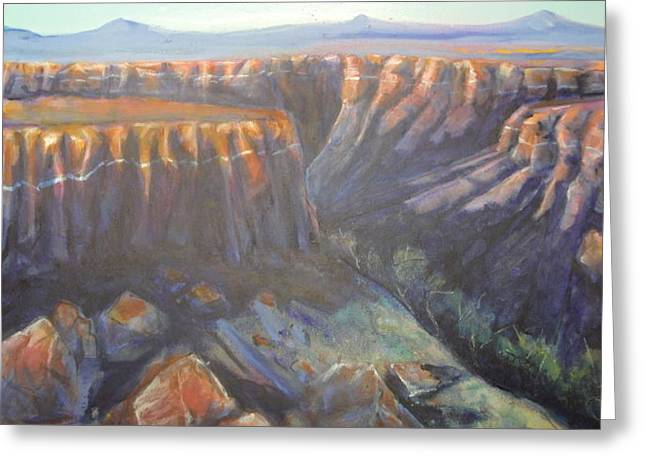Red Rock Canyon 2 Greeting Card by Steven Holder