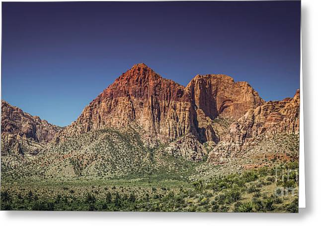 Red Rock Canyon #20 Greeting Card