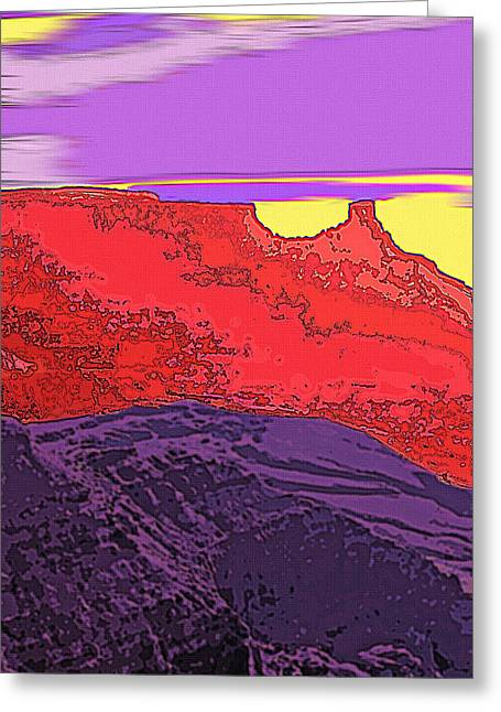 Red Rock Country - Southeastern Utah Greeting Card by Steve Ohlsen
