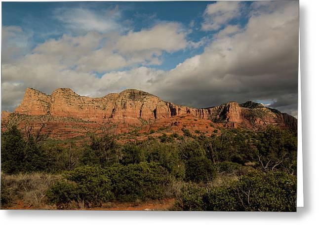 Red Rock Country Sedona Arizona 3 Greeting Card by David Haskett