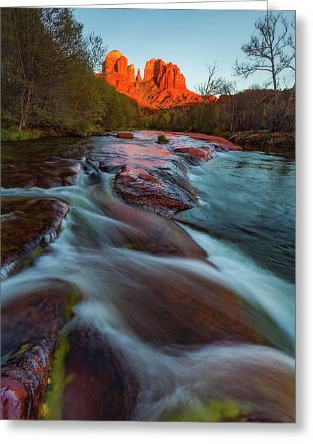 Red Rock Creek Greeting Card