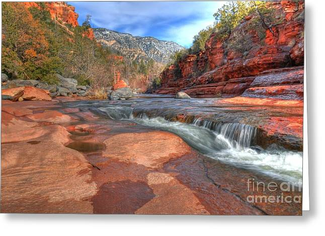 Red Rock Sedona Greeting Card by Kelly Wade