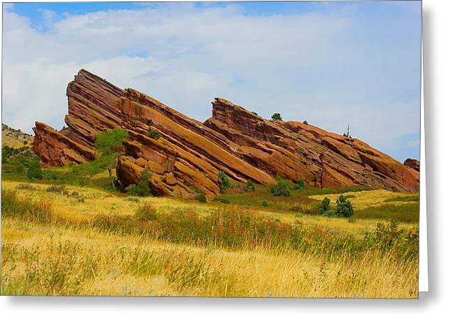 Red Rocks Greeting Card