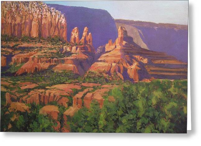Red Rocks Sedona Greeting Card