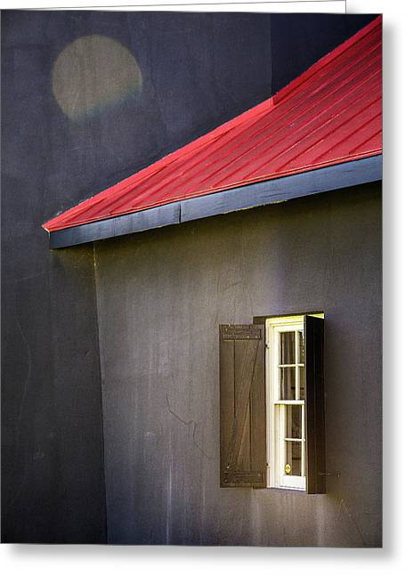 Red Roof Greeting Card