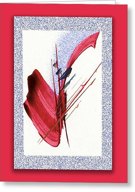 Red Sax Greeting Card