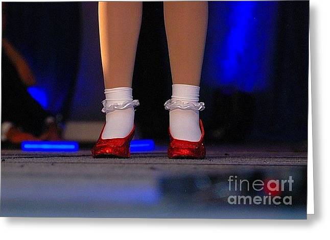 Red Shoes Greeting Card