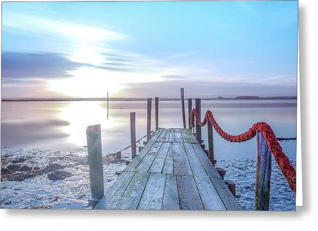 Greeting Card featuring the photograph Red Vs Blue by Bruno Rosa
