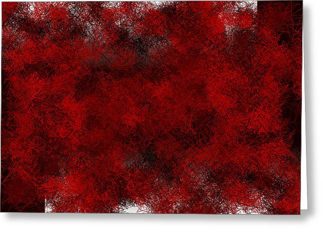 Red.264 Greeting Card by Gareth Lewis