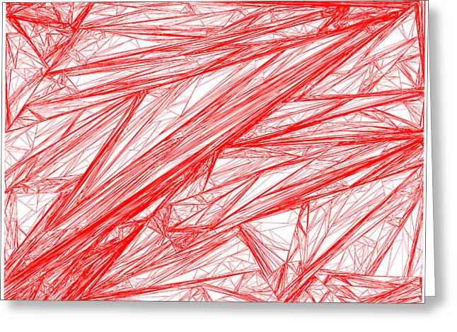 Red.280 Greeting Card by Gareth Lewis