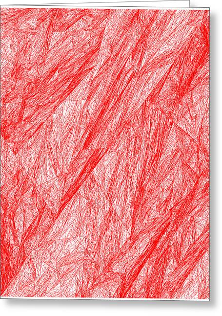 Red.281 Greeting Card