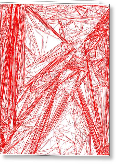 Red.282 Greeting Card