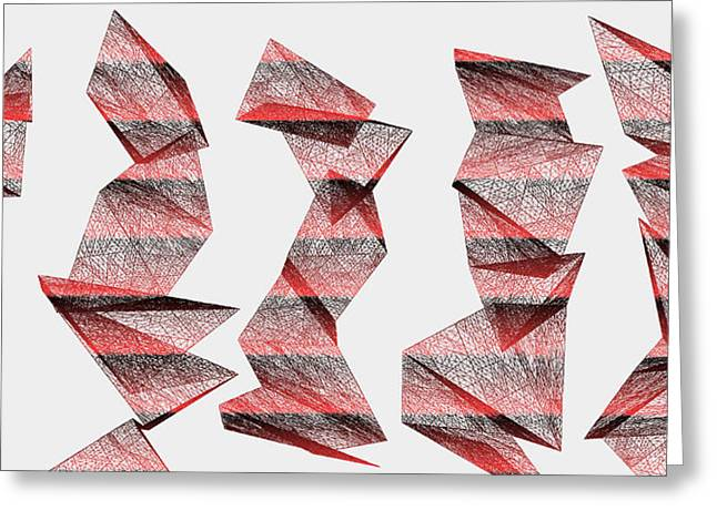 Red.340 Greeting Card by Gareth Lewis
