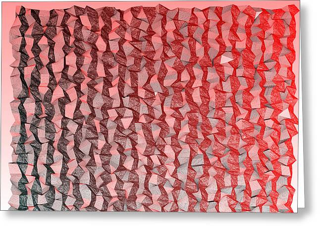 Red.349 Greeting Card by Gareth Lewis