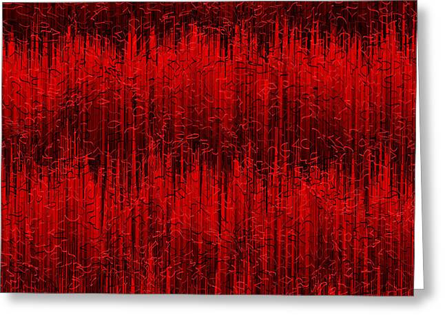 Red.399 Greeting Card