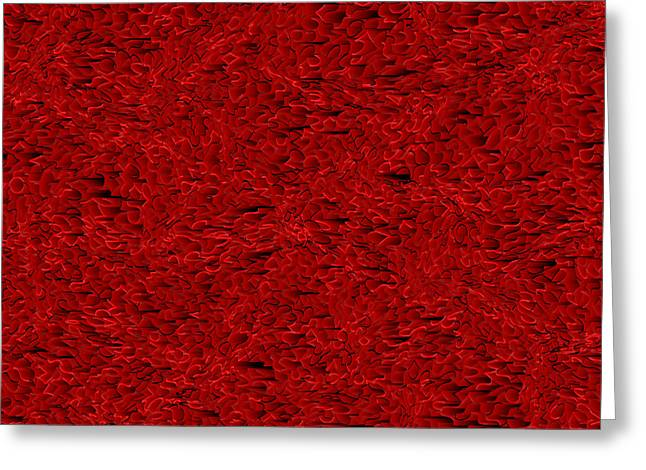 Red.405 Greeting Card by Gareth Lewis