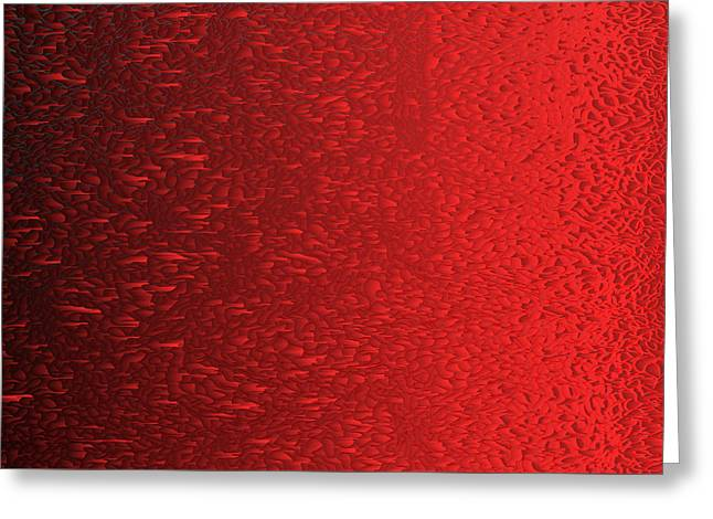 Red.419 Greeting Card by Gareth Lewis