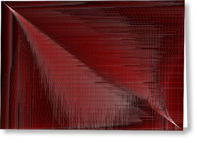 Red.42 Greeting Card