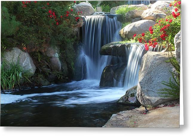 Redhawk Waterfall 5 Greeting Card by Richard Stephen