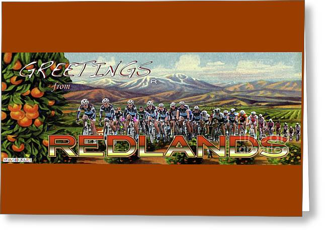 Redlands Greetings Greeting Card